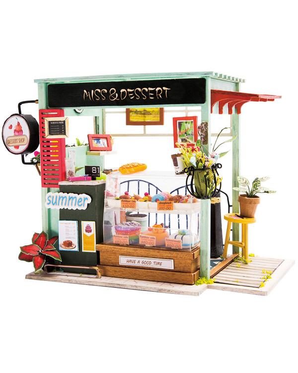 Miniatyyrihuone Jäätelöbaari