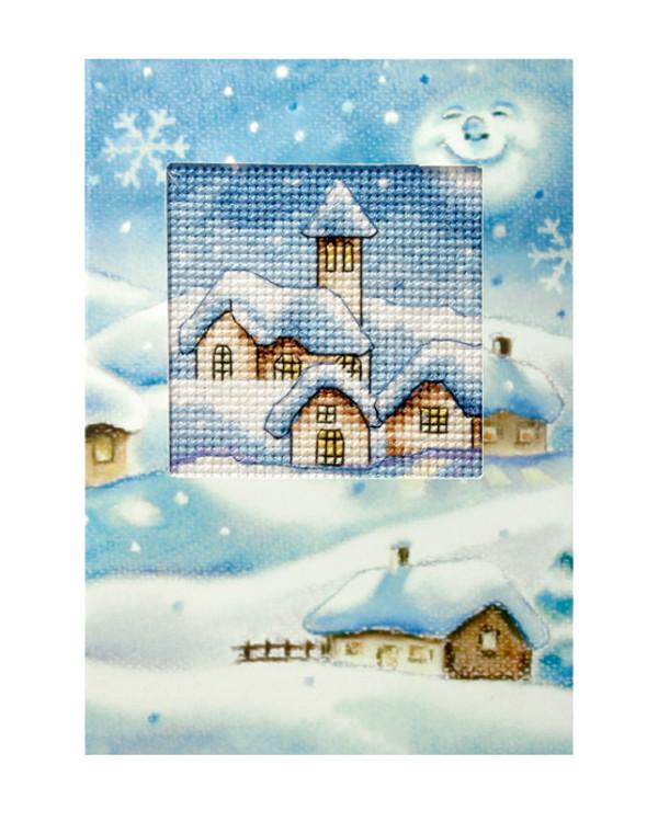 Julkort Julby 1-pack