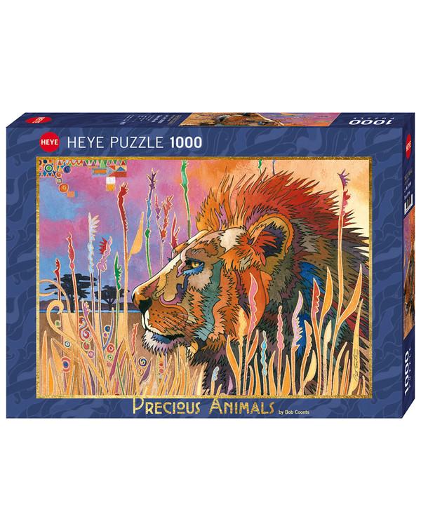 Puslespil Løve på Savannen 1000 brikker