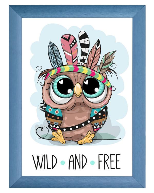 Diamond painting Wild and free