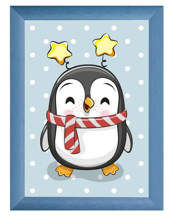 Diamond painting Glad pingvin
