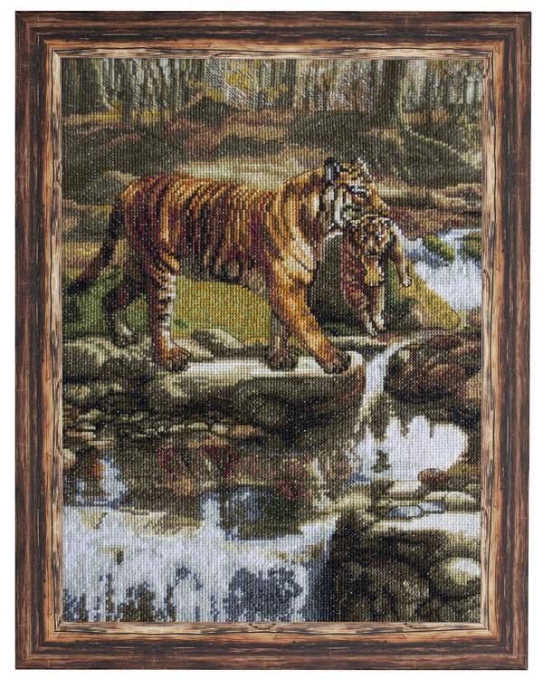 Broderipakke Bilde Tigre