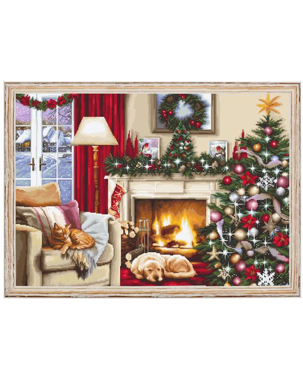 Stickpackung Bild Weihnachtsliebe