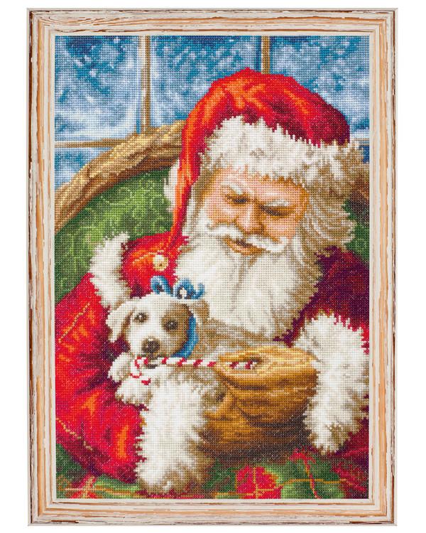 Stickpackung Bild Weihnachtsmann