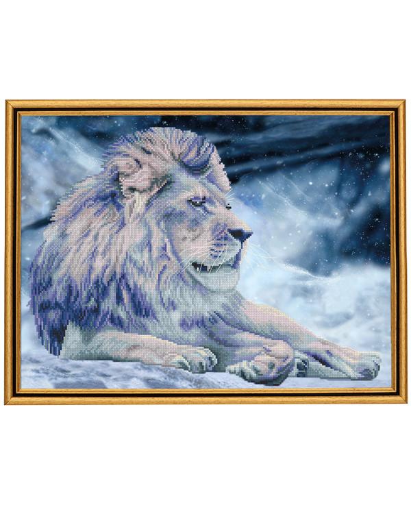 Broderipakke Bilde Magisk Løve