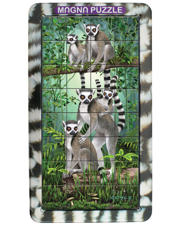 Puslespil Lemurer 32 brikker