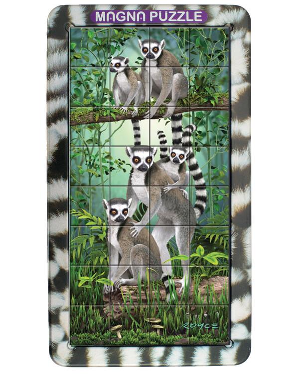 Pussel Lemurer 32 bitar