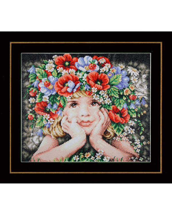 Diamond painting Blumenkranz