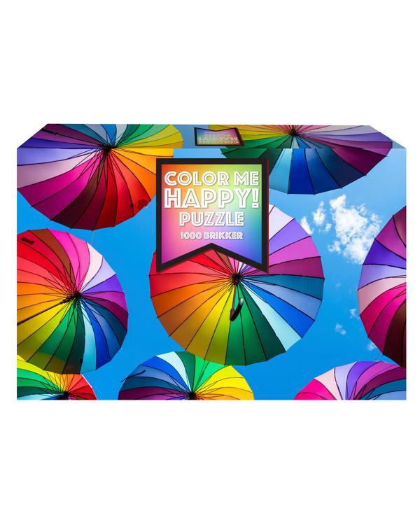 Puslespil Paraplyer 1000 brikker