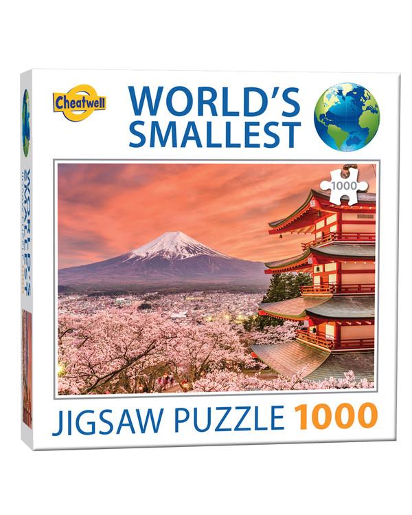 Palapeli Fuji 1000 palaa