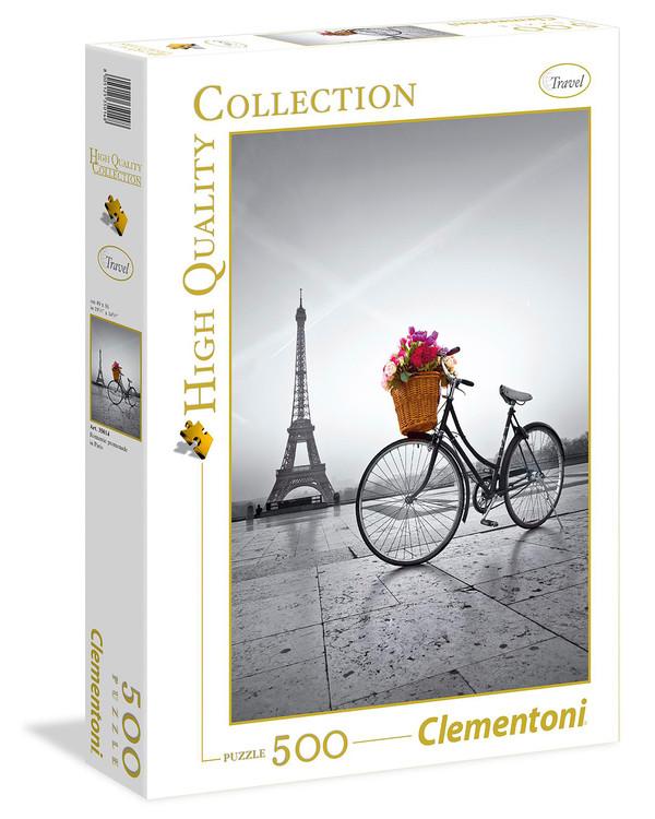 Pussel Cykeltur i Paris 500 bitar