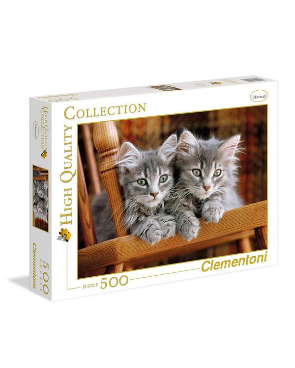 Puzzle Katzen 500 Katzen