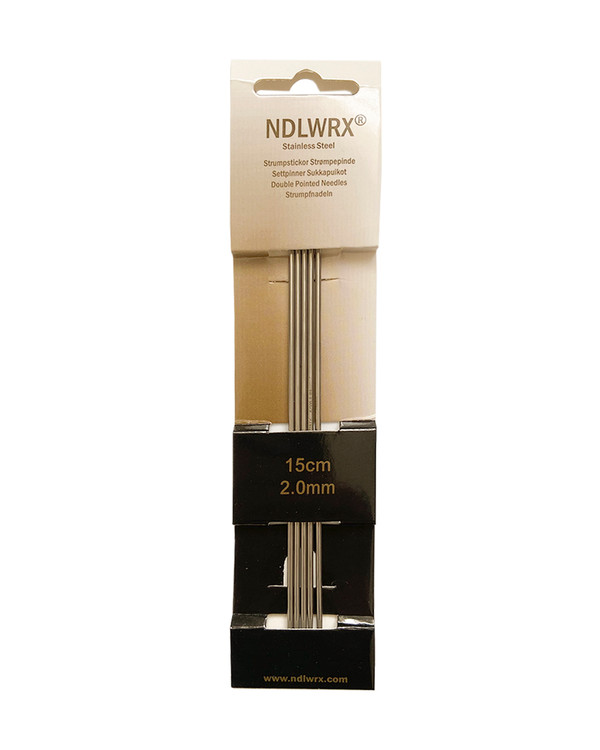 Sukkapuikot metallia, pituus 15 cm