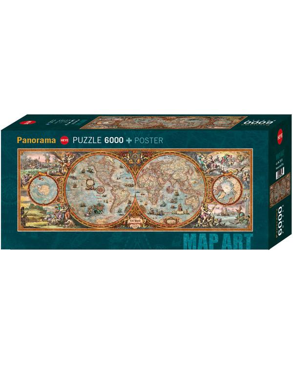 Puzzle Weltkarte 6000 Teile