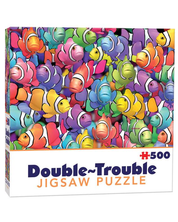 Dubbelsidigt Pussel Clownfiskar 500 bitar
