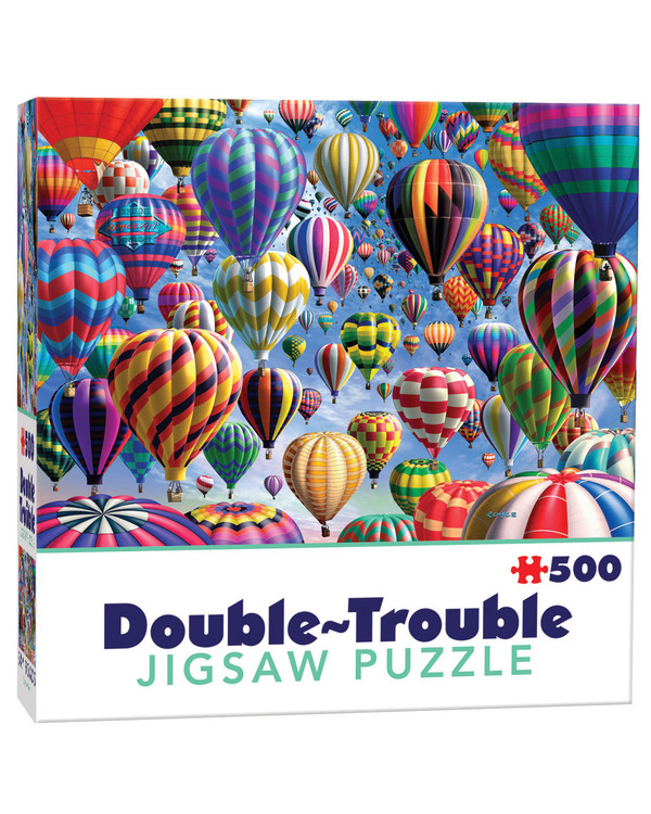 Dubbelsidigt Pussel Luftballonger 500 bitar
