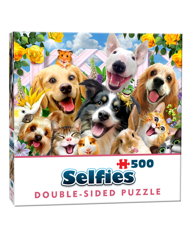 Doppelseitiges Puzzle Selfie 500 Teile