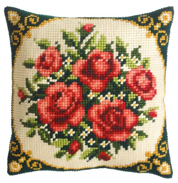 Tyynynpäällinen Punaiset ruusut