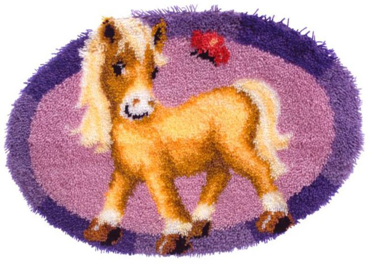 Knüpfmatte Mein Pony