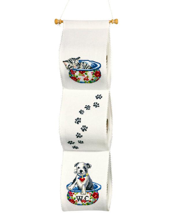 Toilettenpapierhalter Tatzen