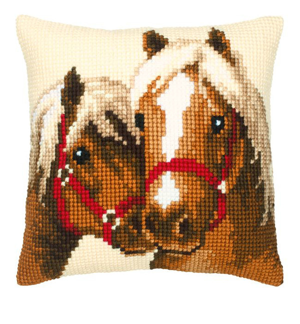 Kissen Pferdekuss