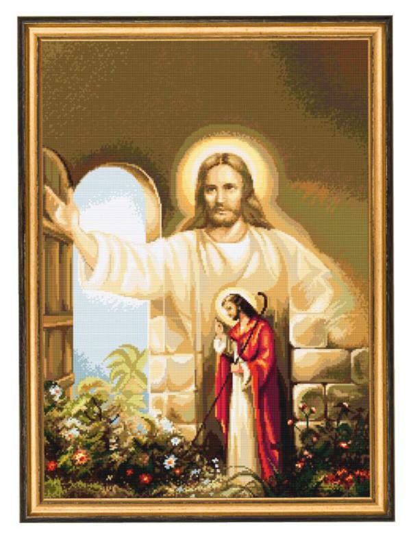 Bild An der Tür