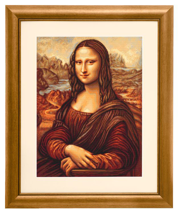 Broderikit Tavla Mona Lisa