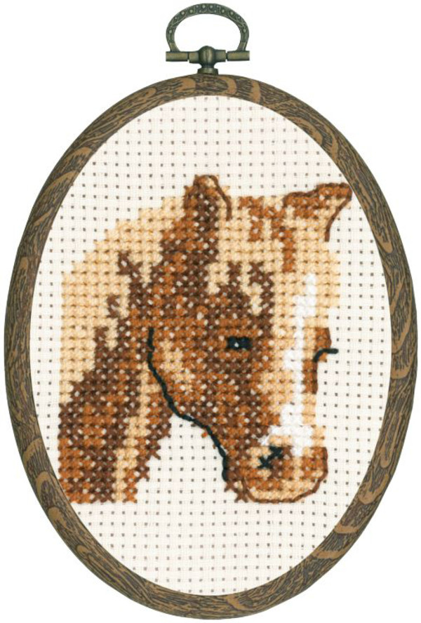 Broderikit Flexitavla Hästen