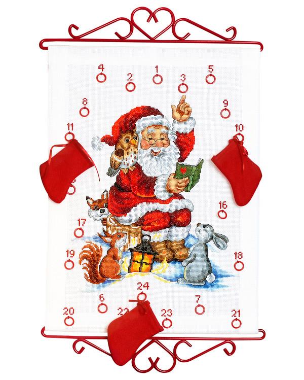 Broderipakke Kalender Julefortellinger