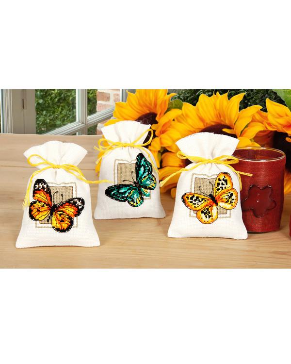 Dufttütchen Schmetterlinge 3-er Pack