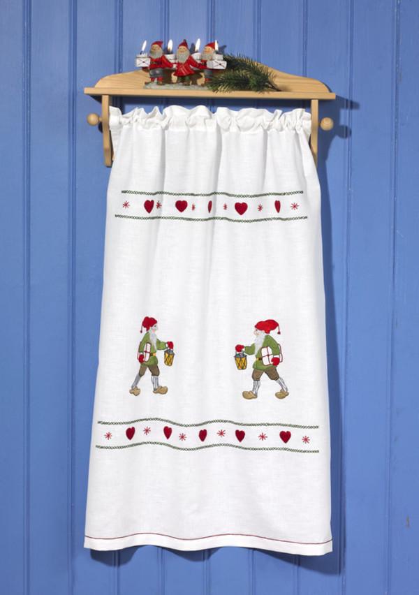 Paradehåndklæde Nisser på spring