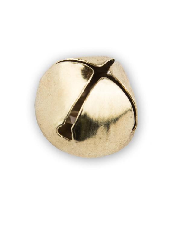 Bjelle 15 mm gull