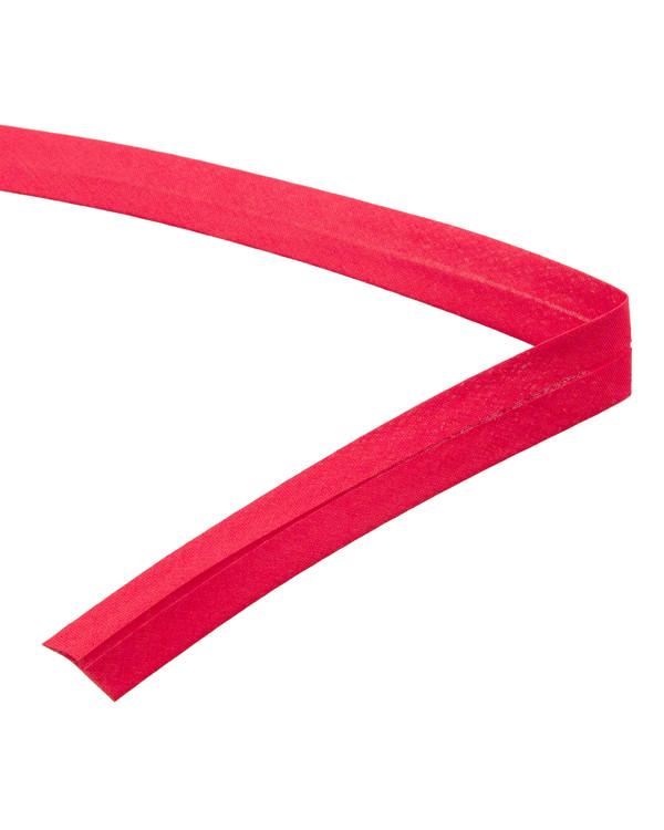 Kantbånd brettet rødt 2 cm