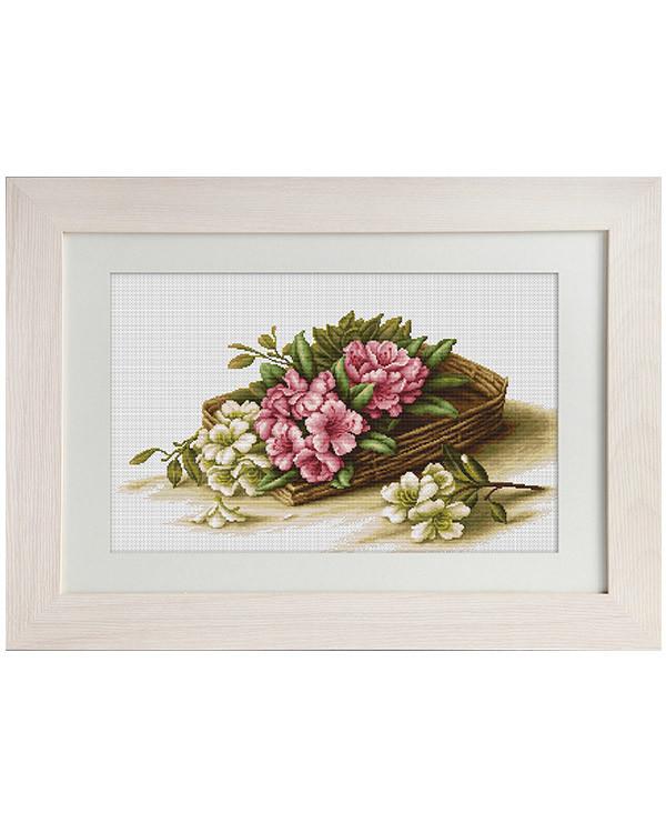 Bild Blumen im Korb