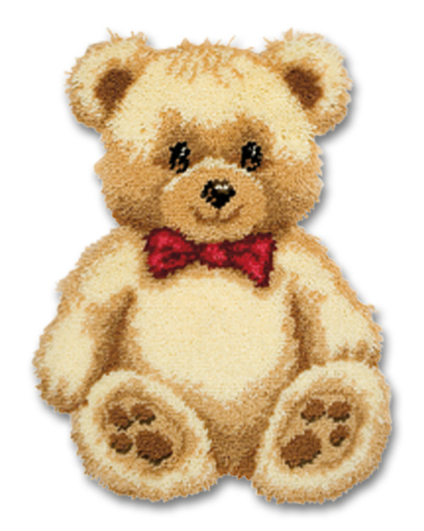 Knüpfmatte teddy