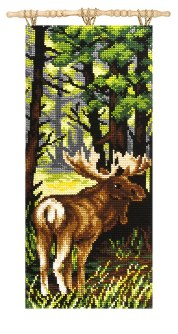 Vægbillede Skovens konge
