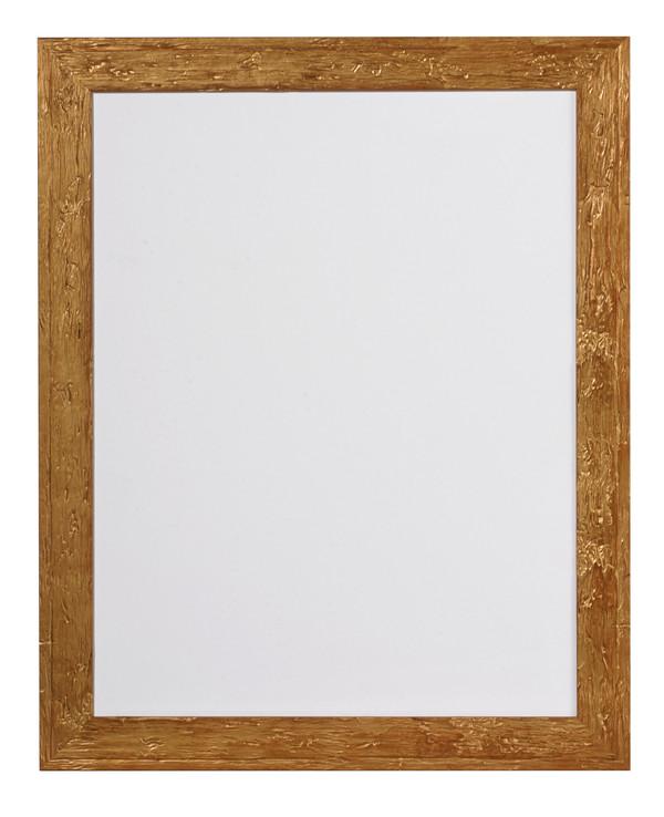 Ram trä/guld 35x45 cm