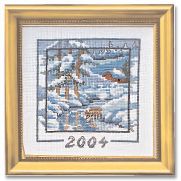 Broderikit Årstavla 2004 aida