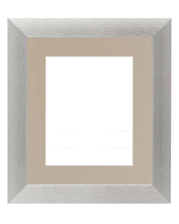 Ramme sølv 20x25 cm pp