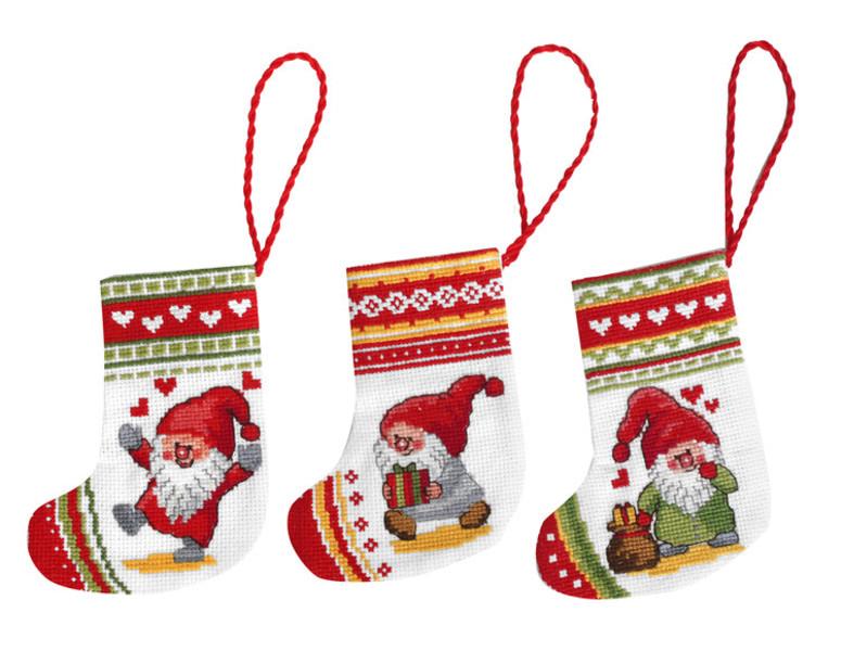 Julesokker Juleglæde 3-pak