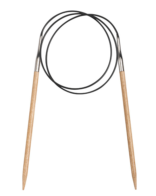 Rundstricknadel Birke 60 cm
