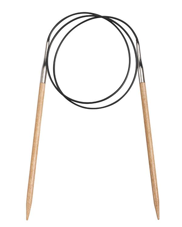 Rundstricknadel Birke 80 cm