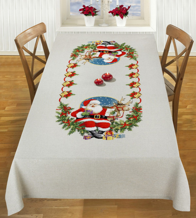 Broderipakke Middagsduk Julegaver
