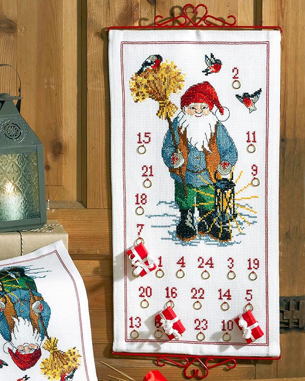 Kalender Nisse med neg