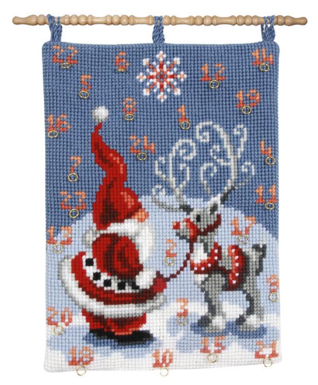 Kalenteri Joulupukki ja Petteri