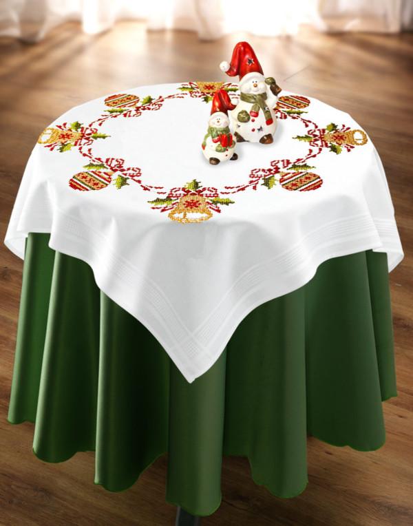 Duk Juledekorasjoner med eller uten garn