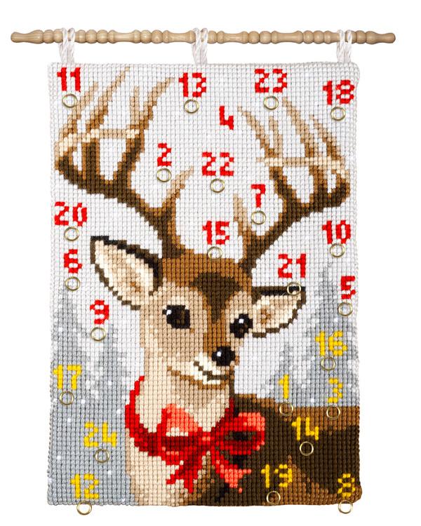 Kalenteri Metsäkauris ja rusetti