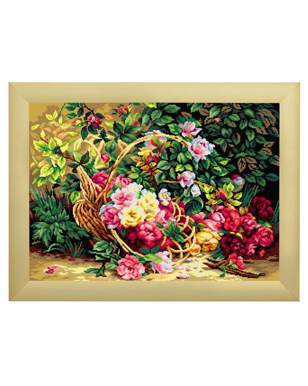 Kanavataulu Korillinen kukkia