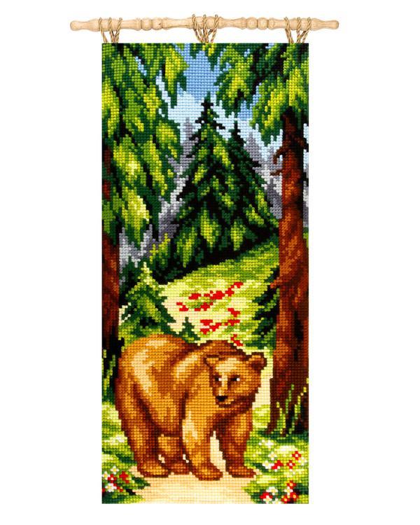 Wandbehang Der große Bär