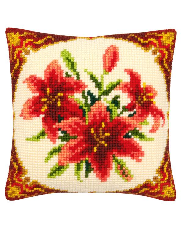 Tyynynpäällinen Punaiset liljat